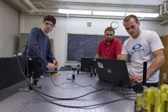 Ripon Collelge, Brett Barwick oversees summer research Ripon Collelge, Brett Barwick oversees summer research