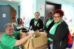 Students, faculty, and staff participate in the annual Stritch Service Day. Students, faculty, and staff participate in the annual Stritch Service Day.